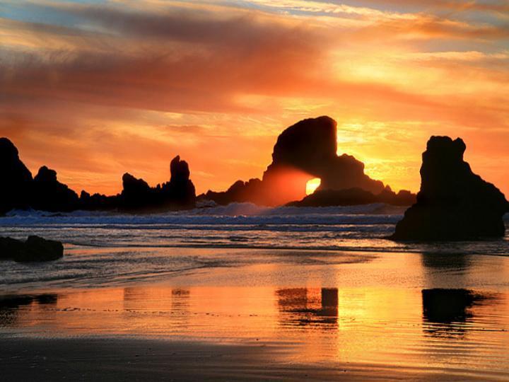 Beach & Sunset