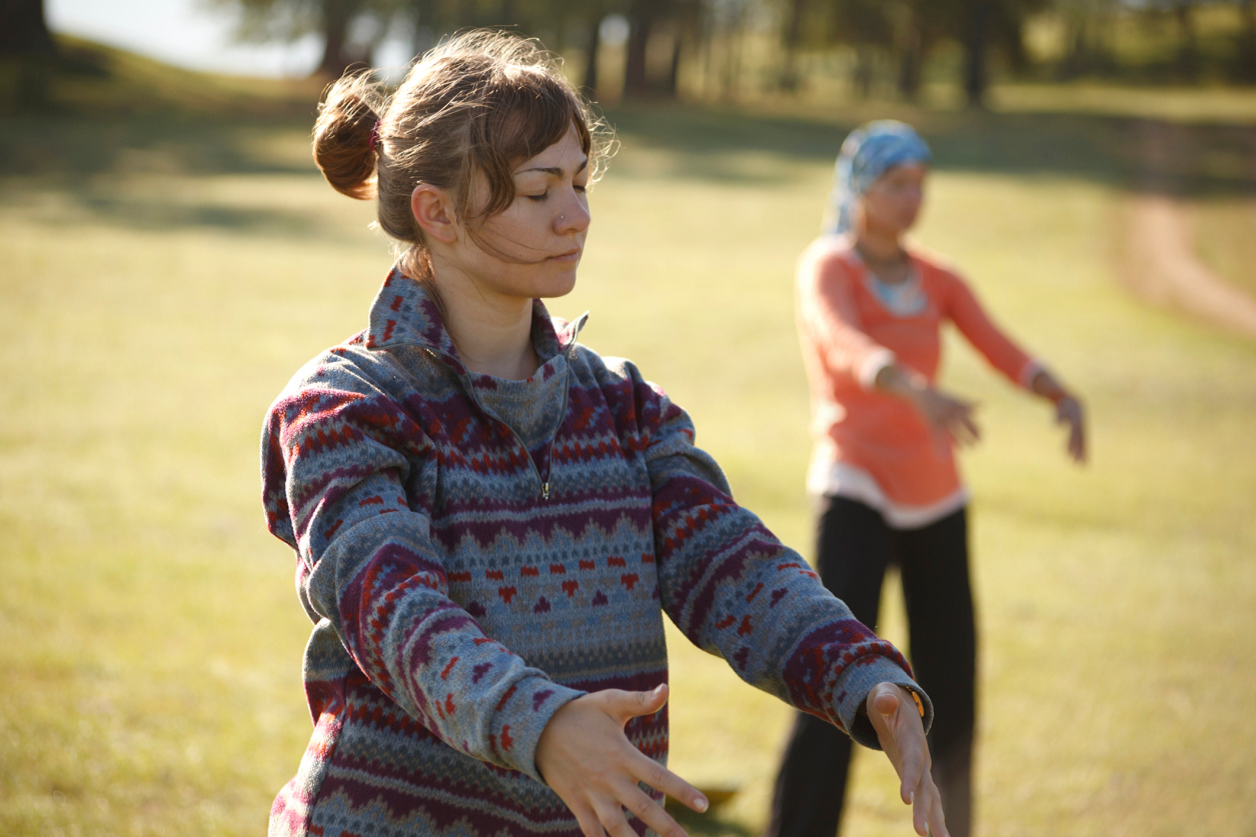 meditation with qi gong
