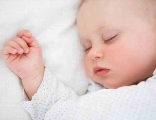 Did you know that babies react to our smell?