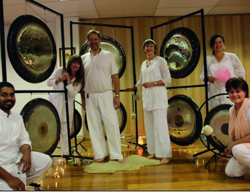 Playing the Gong