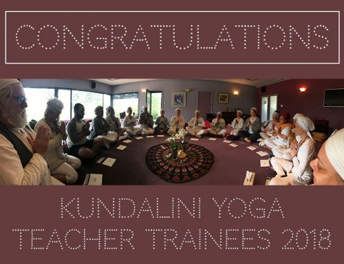 Kundalini Yoga Teacher Trainees 2018!