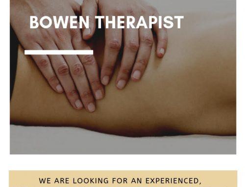 Bowen Therapist