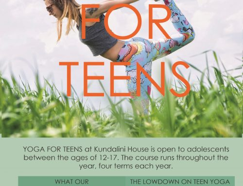 Teens Yoga 2019  – Meet the teacher & Why teen yoga?