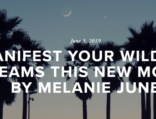 Manifest your wildest dreams this New Moon- By Melanie June