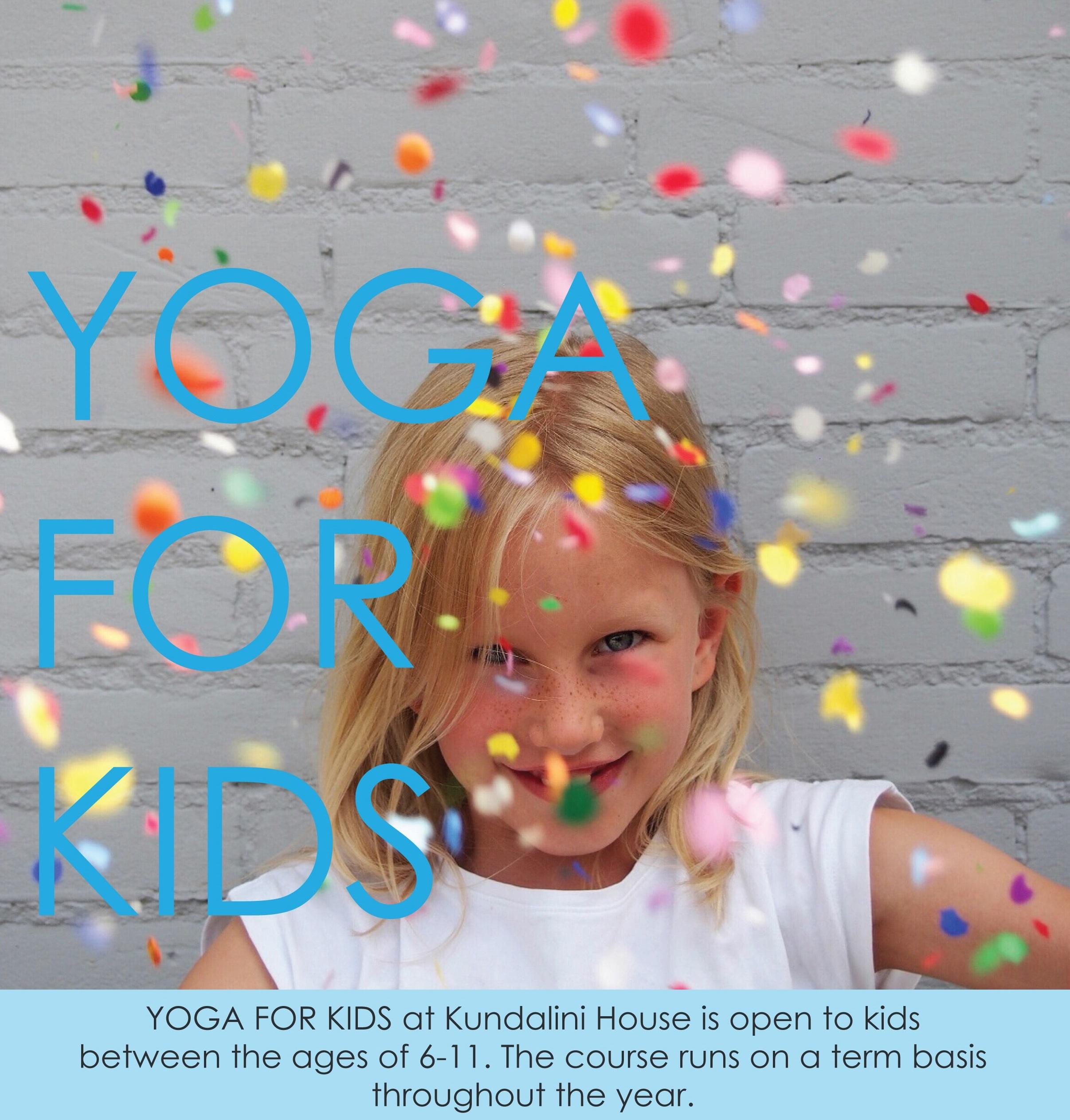 Kids Yoga Course Kundalini House Fitzroy north
