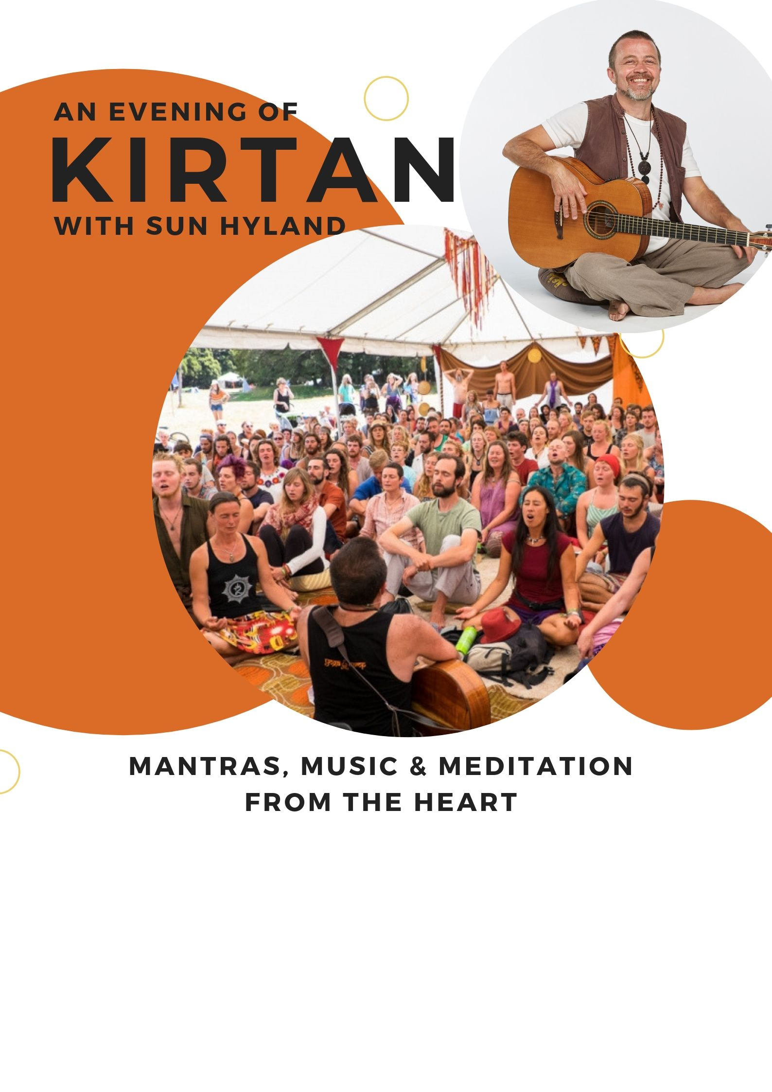 Kirtan with Sun hylend event kundalini house fitzroy north