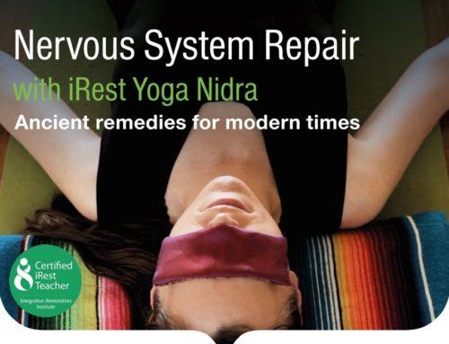 NERVOUS SYSTEM REPAIR iRest Yoga Nidra With Rachel Hanrahan