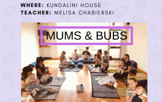 mums and bubs yoga north melbourne